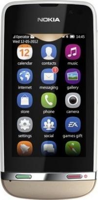 Nokia Asha 311 Sand White