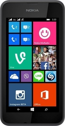 Nokia Lumia 530 DS Dark Grey