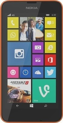 Nokia Lumia 630 Dual SIM Orange Black
