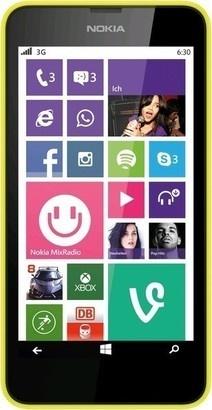 Nokia Lumia 630 Dual SIM Yellow Black