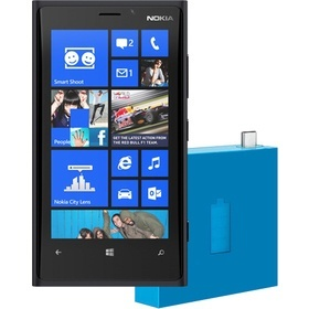 Nokia LUMIA 920 Black + DC 18 Cyan