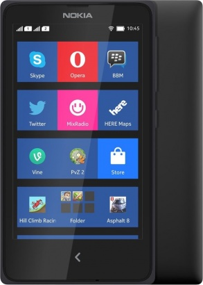 Nokia X DS Black