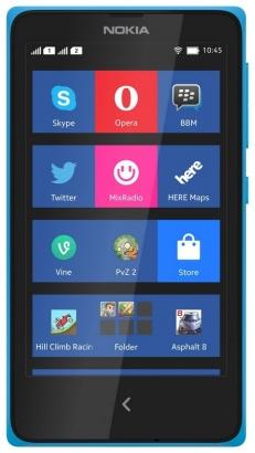 Nokia X DS Cyan