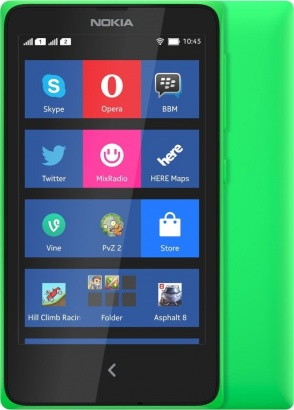 Nokia X DS Green