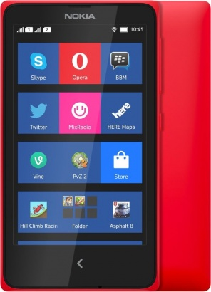 Nokia X DS Red