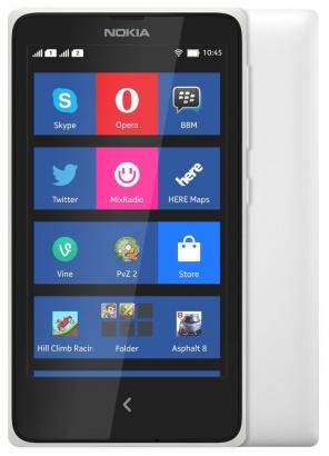 Nokia X DS White