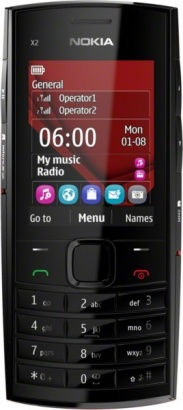 Nokia X2-02 Bright Red