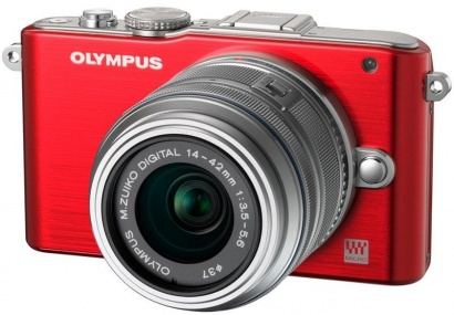 Olympus E-PL3 KIT RED/SILVER
