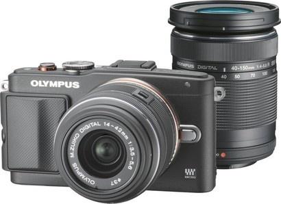Olympus E-PL6 DZ Kit black/black