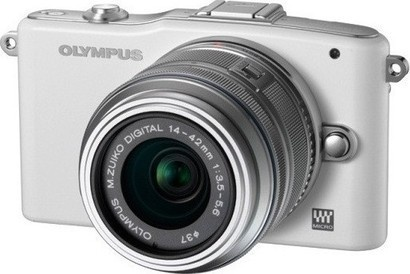 Olympus E-PM1 Kit 14-42 white/silver