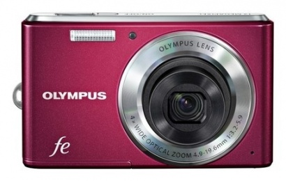 Olympus FE-4050 Red