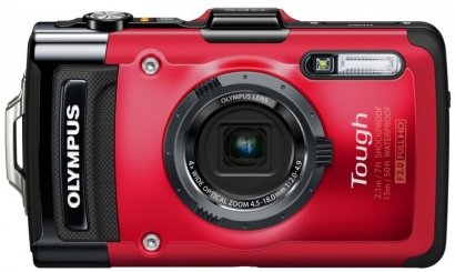 Olympus TG 2 Red