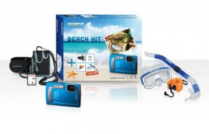 Olympus TG-320 Blue Beach kit