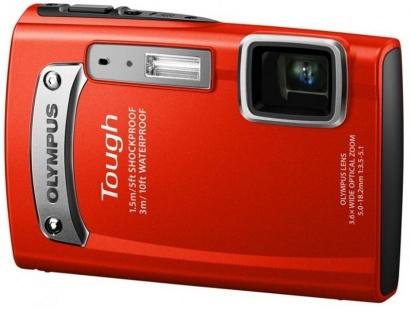 Olympus TG-320 Red