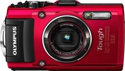 Olympus TG 4 red