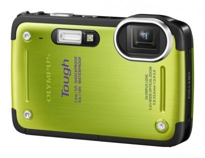 Olympus TG 620 Green