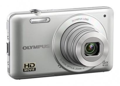 Olympus VG-120 stříbrný