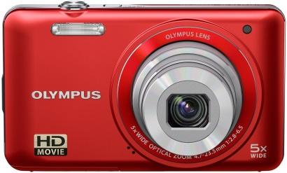 Olympus VG-130 červený
