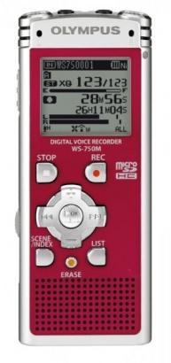 Olympus WS-750M Red