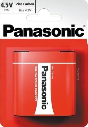 Panasonic 3R12 1BP 4,5V Red zn