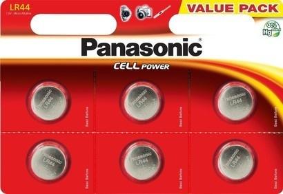 Panasonic A76/LR44/V13GA 6BP Alk