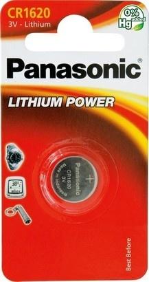 Panasonic CR-1620 1BP Li
