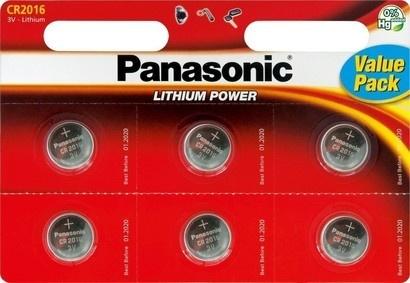Panasonic CR-2016 6BP Li