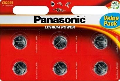 Panasonic CR-2025 6BP Li