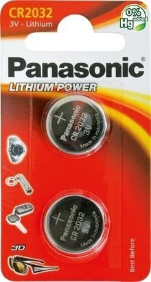 Panasonic CR-2032 2BP Li