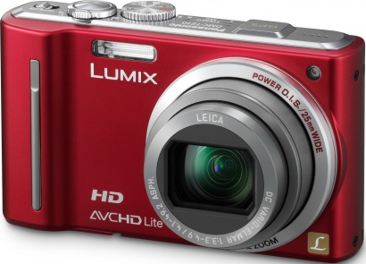 Panasonic DMC TZ10 Red
