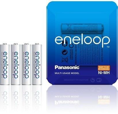 Panasonic HR03 AAA 4MCCE/4LE ENELOOP Sliding Pack