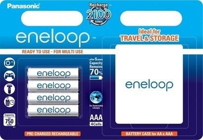 Panasonic HR03 AAA BK-4MCCEC/4BE Eneloop