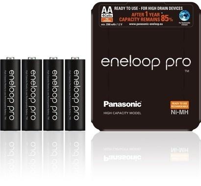 Panasonic HR6 AA 3HCDE/4L ENELOOP PRO Sliding Pack