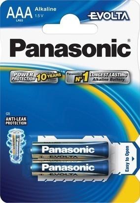 Panasonic LR03 2BP AAA Evolta alk