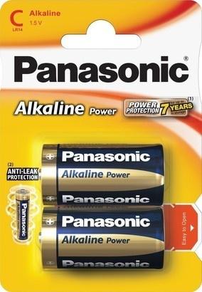 Panasonic LR14 2BP C Alk Power alk
