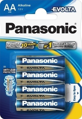 Panasonic LR6 4BP AA Evolta alk