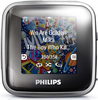Philips GoGear Spark SA2SPK02S / 2GB