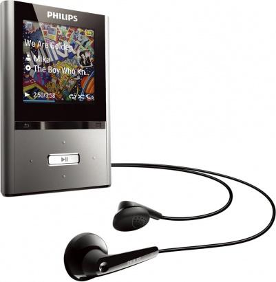 Philips GoGear ViBE 8 GB SA2VBE08K/02