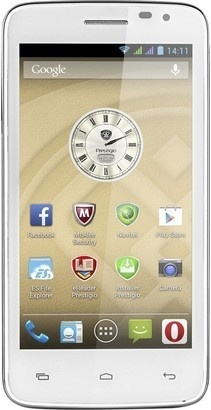 PRESTIGIO MultiPhone 3501 DUO White
