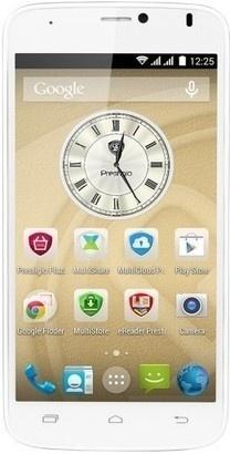 PRESTIGIO MultiPhone 3502 DUO bílý