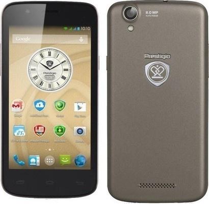 PRESTIGIO MultiPhone 5453 DUO chromová