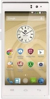PRESTIGIO MultiPhone 5505 DUO bílý