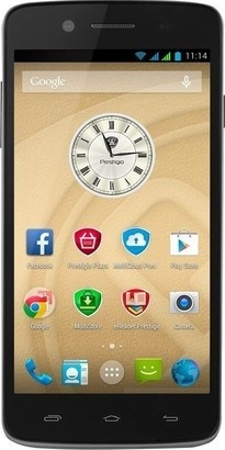 PRESTIGIO MultiPhone 5550 DUO černý
