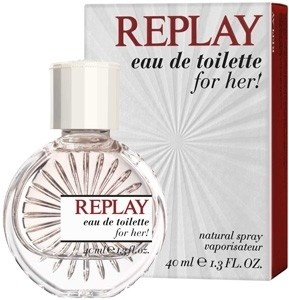 REPLAY for woman toaletní voda 40 ml