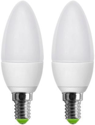 RETLUX REL 6 LED C37 2x5W E14