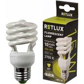 RETLUX RFL 10 SPIRAL-T2 15W E27