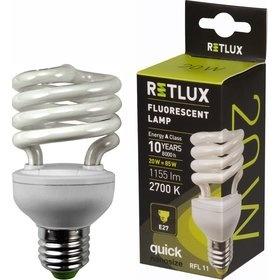 RETLUX RFL 11 SPIRAL-T2 20W E27