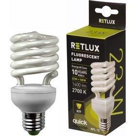 RETLUX RFL 12 SPIRAL-T2 23W E27