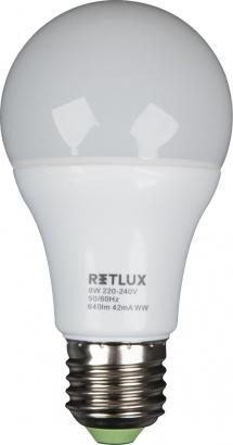 RETLUX RLL 14 LED A60 8W E27