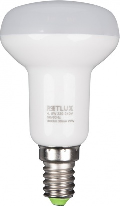 RETLUX RLL 33 LED R50 4,5W E14